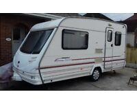 Sterling Eccles Jade 2 berth caravan
