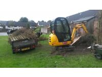 Nigg Forestry & Fencing - Mini Digger, Ride On Mower & Driver