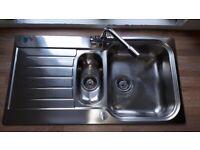 Howdens Lamona Ashworth 1.5 bowl sink