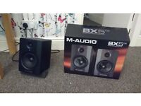 M audio BX5 D2 *perfect condition* in box