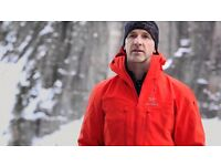 Arcteryx Alpha SV jackets new tagged sz XL Cayenne red/orange or Poseidon blue