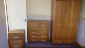 Walnut Veneer B and Q Bedroom Furniture