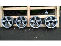 "Genuine Mercedes Benz 16"" Alloy Wheels with Locking Wheel Bolts"