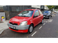 TOYOTA YARIS LEFT HAND DRIVE CHEAP TO RUN MINT CONDITION QUICK SELL