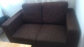 2 Seater sofa and arm chair very good condition