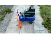 Draper 25l oil free air compressor