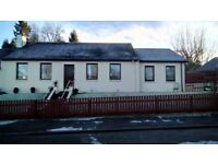3 bed semi detached bungalow