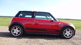 Mini Cooper S, 2003, earlier supercharged version with smaller pulley fitted so is pretty quick