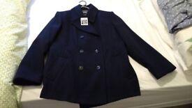 debenhams ladies navy winter coat