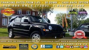 2015 Jeep Patriot North-4X4-Cruise-Low Km's-Pwr Wdws/Drs/Mrrs