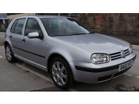 2003 52 VOLKSWAGEN GOLF 1.6 S AUTO MOT 02/17 (PART EX WELCOME)