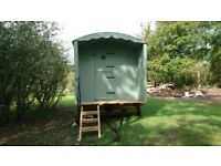 Shepherds hut, quality product, newly built, viewing recommended