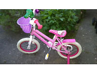 Girl's Hello Kitty Bicycle (suit age 5-10) - free