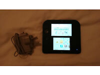 Nintendo 2ds Black with charger