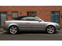 Audi A4 Sline Convertable 2006, 2 litre petrol Turbo 198bhp Just had full service 12 months MOT