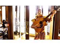 Ziggy Stardust Cosplay Costume (Mask + Full Length Costume)