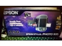 Epson stylus photo printer. Boxed. Collect today cheap. Open to offers