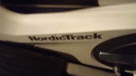 NordicTrack E4.2 Elliptical cross trainer. - perfect condition . FREE Elite turbo mag cycle trainer.
