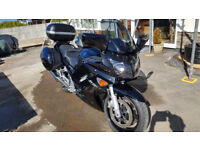 FJR1300 in Black. Showroom condition with full luggage