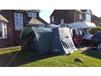 LARGE DRIVE AWAY AWNING WITH DOUBLE BEDROOM!! VW T4, T5, T2, T25, SPLITTY, MOVANO, VITO