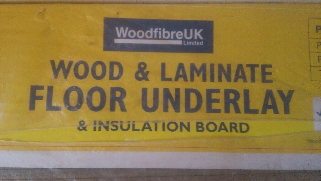 Woodfibreuk Underlay Insulation For Laminate Flooring For Sale In