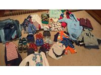 Boys shoes & clothing various sizes from 9 months to 2 years