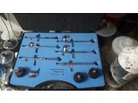 6 piece airbrushing kit & electrical compressor