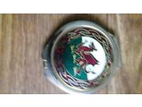 Collectable welsh drago compact mirror