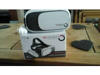 VR VISION 2.0 VIRTUAL RITUAL REALITY GLASSES, WITH BLUETOOTH REMOTE CONTROL V.G.C.