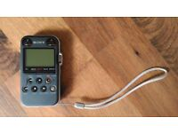 Sony PCM-M10 HD digital audio recorder/dictaphone