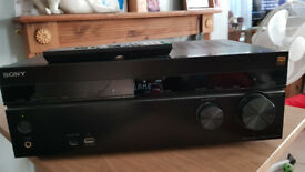Sony 4k amp and speaker set