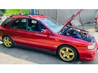 Subaru Impreza turbo track car