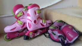 Roller blades and accessories