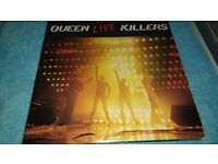 QUEEN-KILLERS-LIVE MAGIC-QUEEN 1-VINYL L.P'S