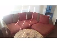 FREE corner L shaped sofa