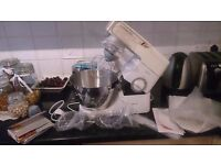 Kenwood chef baking food mixer