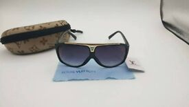 PAYPAL ACCEPTED LOUIS VUITTON BLACK EVIDENCE SUNGLASSES BRAND NEW