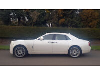 WEDDING CAR, REGISTRY, RECEPTION, CHAUFFEUR SERVICE ROLLS ROYCE GHOST, MERCEDES, BMW 5, RANGE ROVER