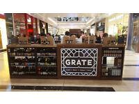GRATE Beer Shop and Bar Sales Assistant needed: Westfield Shepherds Bush