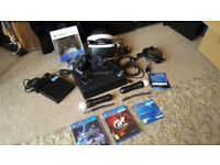 PS4 Pro 1T, VR Bundle, Playstion move, Extra controller, battle front 2 & GT Sport.(No fifa included