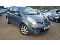 Nissan Note 1.4 16v SE 5dr, FSH, GENUINE LOW MILEAGE, HPI CLEAR,LONG MOT, P/X WELCOME, MUST SEE