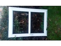 uPVC BRAND NEW Double Glazed Window 97cm x 134cm Frame - minus glass