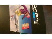 Go Pro Hero Session 4 16GB Sandisk Extreme & Bike Out Front Mount
