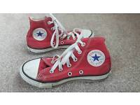 Childs Converse All Stars size 12 and 1/2