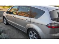 07 Ford S-Max Titanium 7 Seater (Mot Nov 18) Like Vauxhall Zafira -Galaxy-Estate Focus St