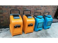 industrial dehumidifiers four off all pump out FRAIL/DRIEAZ m29 area phone me working fine