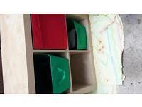 Ikea trofast storage boxes