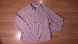 Red Plaid Checked Breathable Hiking Shirt by Alpine Design - Size Large - RRP £50