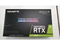 Nvidia RTX 3070 Vision OC (SEALED)