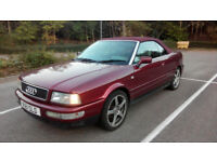 Audi 80 Cabriolet Convertible 2.6 V6 Automatic, LONG MOT, VERY CLEAN and ORIGINAL EXAMPLE